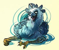 harpy gryphon by CoconutMilkyway