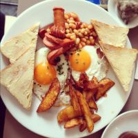 english breakfast by Saphirell