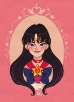 Sailor Mars by DixieLeota