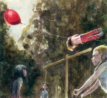 The red balloon by BeatrizMartinVidal