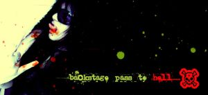 Backstage pass to hell by Holle