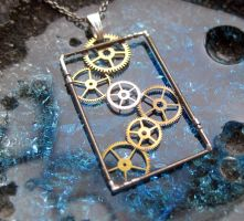 Clockwork Pendant Enter by AMechanicalMind