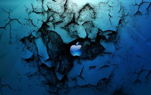 Apple in Win 7 by dncube