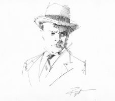 James Cagney by GeraldPiggott