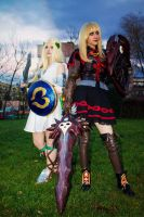 Mommy and daughter - Soul Calibur by Niharuu