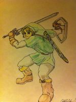 Link: Ocarina of Time by thelinkleonxkennedy2
