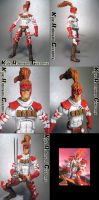 Custom Shatterstar Figure by KyleRobinsonCustoms