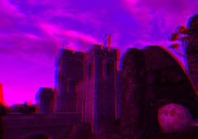 Wolverine Hall Anaglyph by Rastrelly