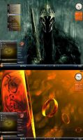 Win7 The One Ring Theme by KeybrdCowboy