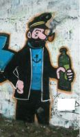 Captain Haddock by dadouX