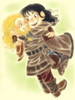 Fili and Kili_2 by LinART