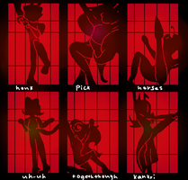 Cell Block Tango homestuck by lisianthus-rose