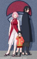 The Uchiha Family by romigd13