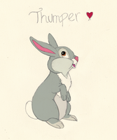 Thumper by CaeruleanLuminosity