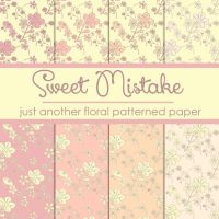 Free Sweet Mistake Floral Patterned Paper by TeacherYanie