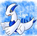 Day 24 - Lugia - Fave Legendary by Jhordee