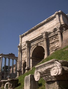 The Ruins of Rome by Futurender