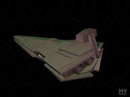 LEGO Star Destroyer by MikomDude