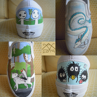 Miyazaki Shoes by GoWaterTribe