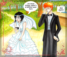 Wedding in Pinch - ichiruki by hana-sun