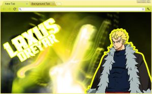 Fairy Tail Chrome Theme: Laxus Dreyar by yohohotralala