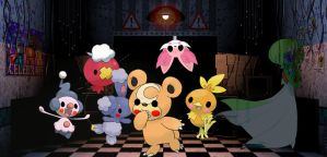 Five Nights at Teddiursa's 2 by Torchics-Forever