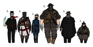 Player Characters by NicklausofKrieg