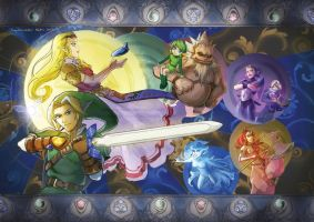 Ocarina of Time by tinysaucepan
