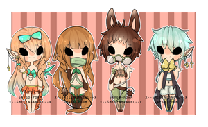 SaygoAngel Collab 3 Auction {C L O S E D} by chuguri
