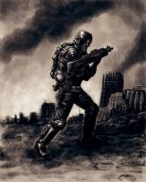 Soldier. by Hungrysparrow