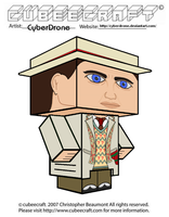 Cubeecraft - The 7th Doctor by CyberDrone