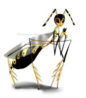 Wasp - Pattunia by CottonValent