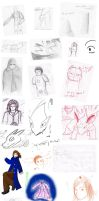 Recent sketches. by Guidorius