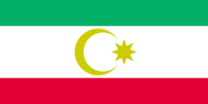 Flag of Tats of Caucasus by hosmich