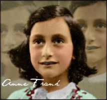 Anne Frank Rare Photo by Livadialilacs