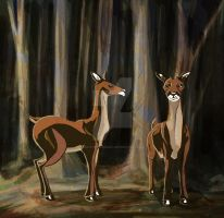 Deer - Des Bois by JenTheThirdGal