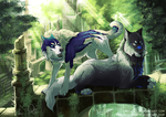 YCH Collab - Courier's Message by ShadeofShinon