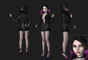 AliceVampire, wip1 by tombraider4ever