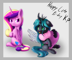 [Gift] Happy Birthday KP-ShadowSquirrel! by Whazzam95