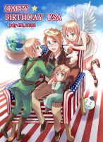 HAPPY BIRTHDAY USA 2012/HETALIA by sena1923