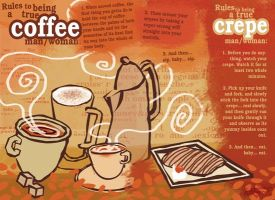 Coffee and Crepes, baby by mohoohaha