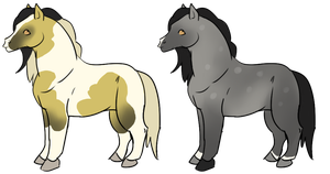 HersholtSB's Horse Designs by luckdown