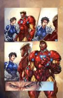 marvel color practice 3 by faroldjo