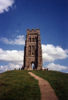 Glastonbury Tor by purplelining