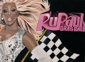 RuPaul's Drag Race by crystalcollecter