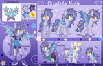 Crystella Notte reference sheet  by xXNovaNepsXx