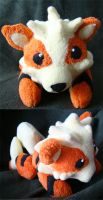 Chibi Arcanine Plush by Shadowless-Dreamer