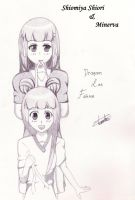 Shiori and Minerva 0034 by DragoonLee
