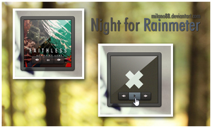 Night ( Rainmeter ) by milano88