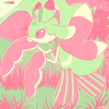Lurantis | Colour Palette - Blooming by ChibiSo